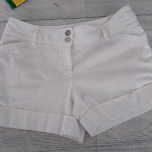 White House Black Market cotton shorts size 8